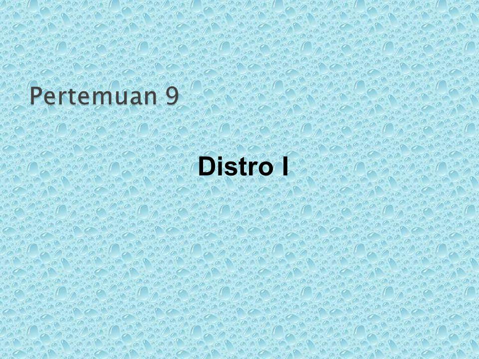 Distro I