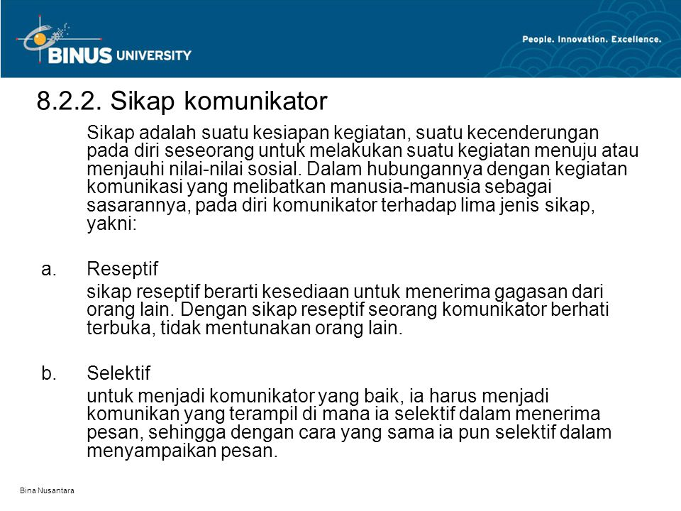Bina Nusantara 8.2.2.