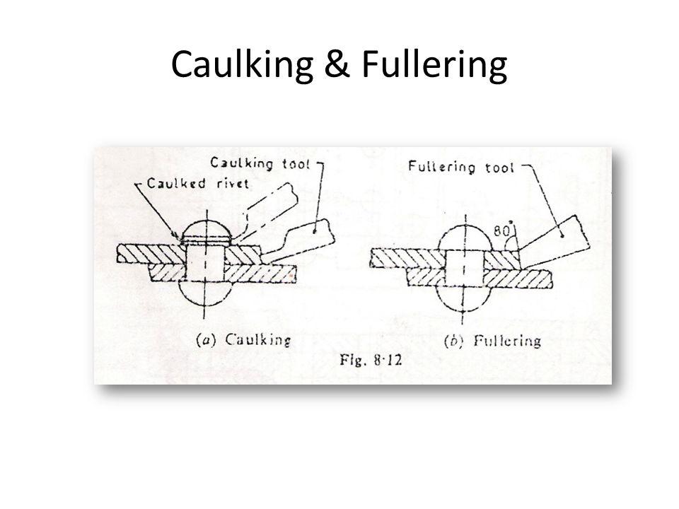 Caulking & Fullering
