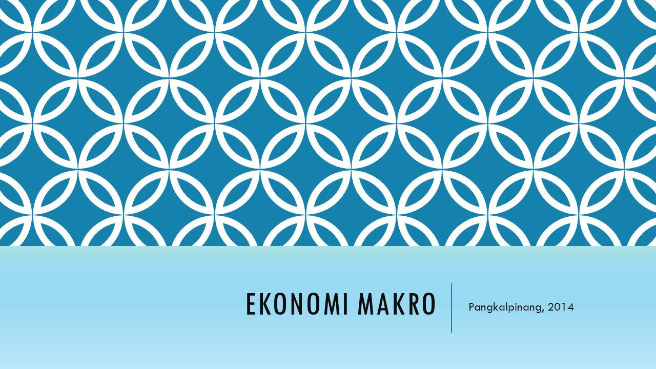 EKONOMI MAKRO Pangkalpinang, 2014