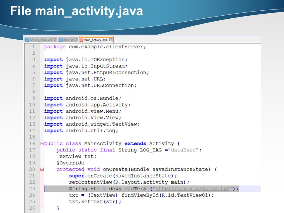 File main_activity.java