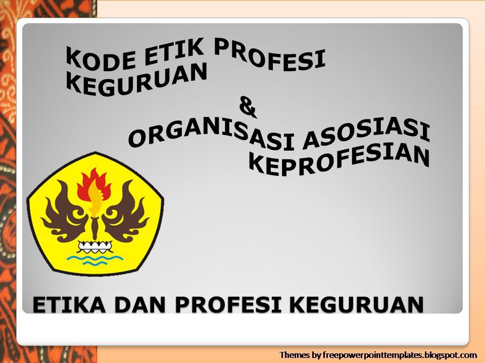 Misi organisasi asosiasi profesi