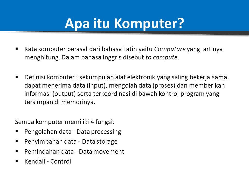 Konsep Arsitektur Komputer Arsitektur Komputer Vs Organisasi Komputer Arsitektur Komputer adalah bagian yang lebih cenderung pada kajian atribut–atrib
