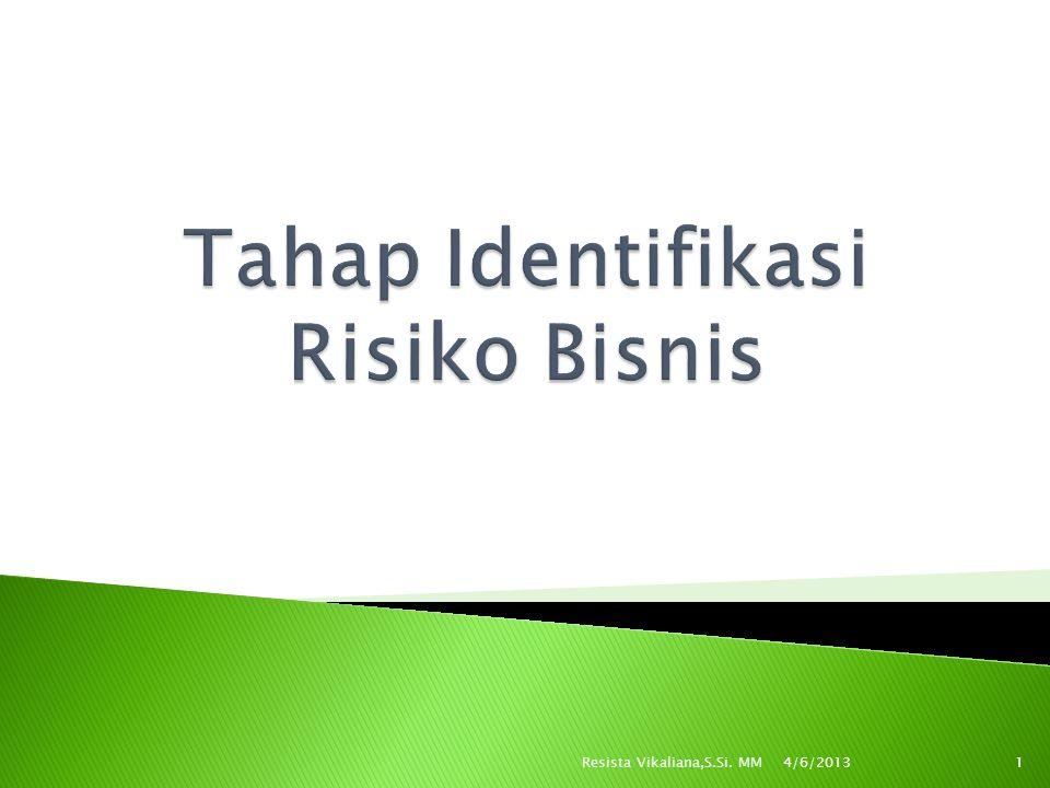  PENGERTIAN: Suatu proses yang dilakukan oleh perusahaan secara sistematis dan terus menerus dalam mengidentifikasi properti,liabilitas, dan personnel exposures.