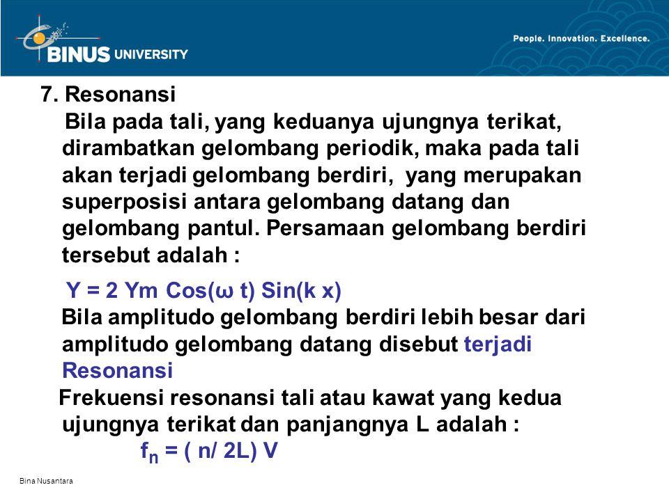 Bina Nusantara 7.