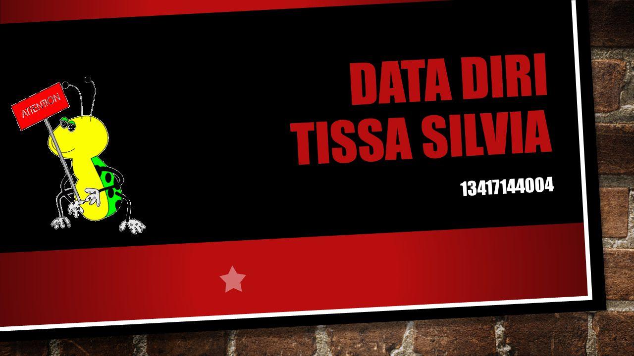 DATA DIRI TISSA SILVIA 13417144004