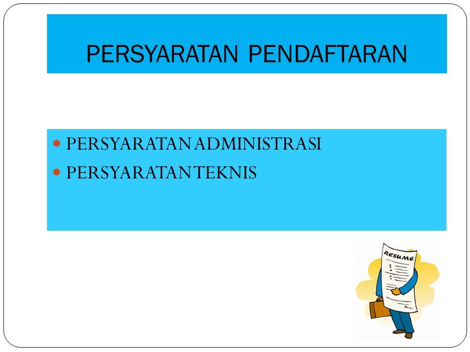 Masa Berlaku Surat Persetujuan Pendaftaran Surat Persetujuan Pendaftaran berlaku selama 5 (lima) tahun dan dapat diperpanjang melalui Pendaftaran kembali.