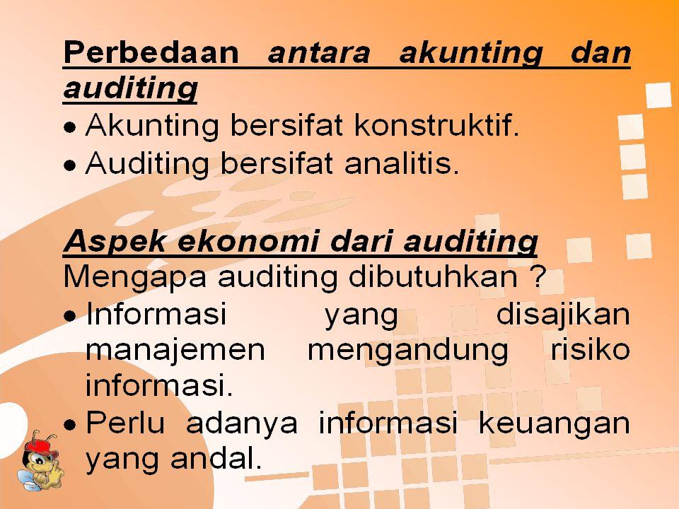 Standard Auditing (cont'd)