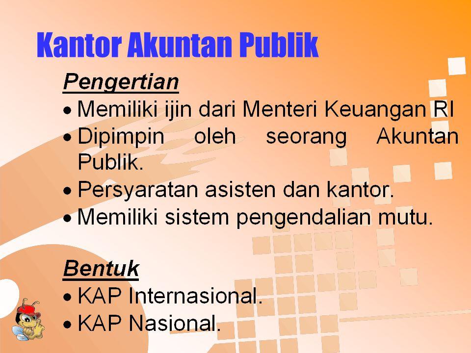 Kantor Akuntan Publik (cont'd)