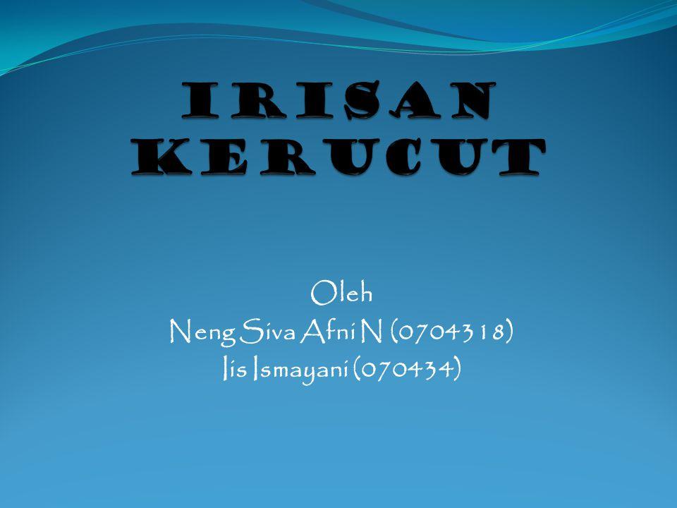 Oleh Neng Siva Afni N (0704318) Iis Ismayani (070434)