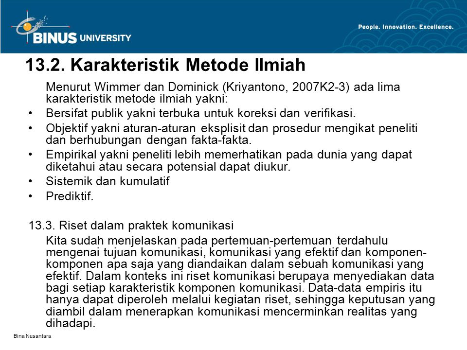 Bina Nusantara 13.4.