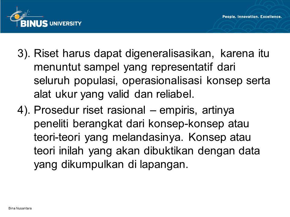 Bina Nusantara 3).