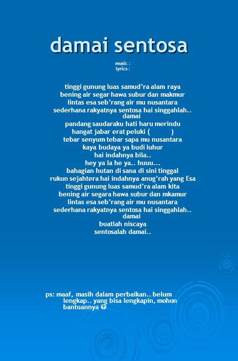 dendang bersahutan music & lyrics : b.