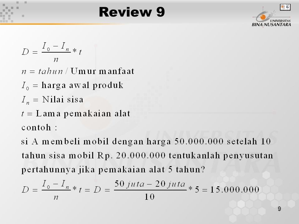 10 Review 9