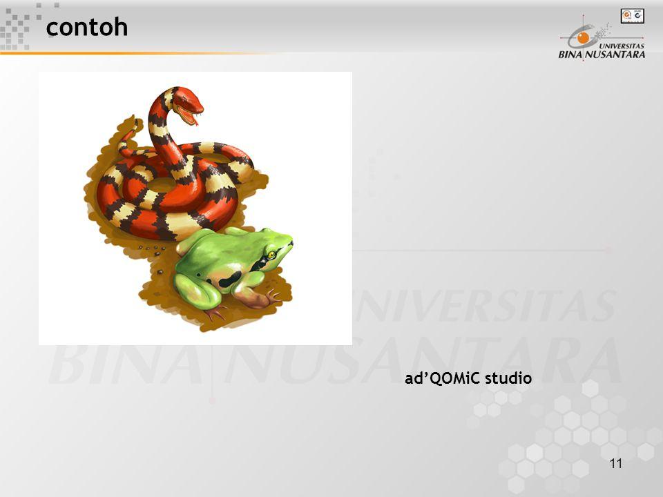 11 contoh ad'QOMiC studio