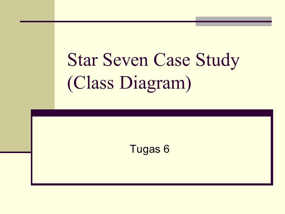 Star Seven Case Study (Class Diagram) Tugas 6