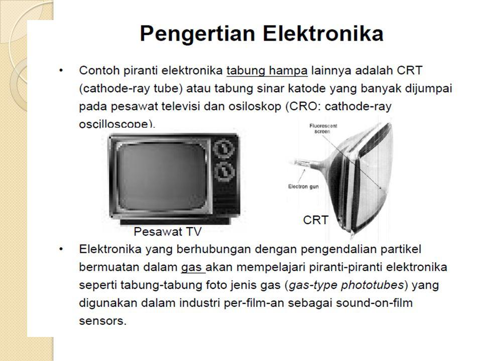 Rangkaian Penyearah Dengan Dioda Setiap perangkat elektronik membutuhkan catuan berupa tegangan DC.