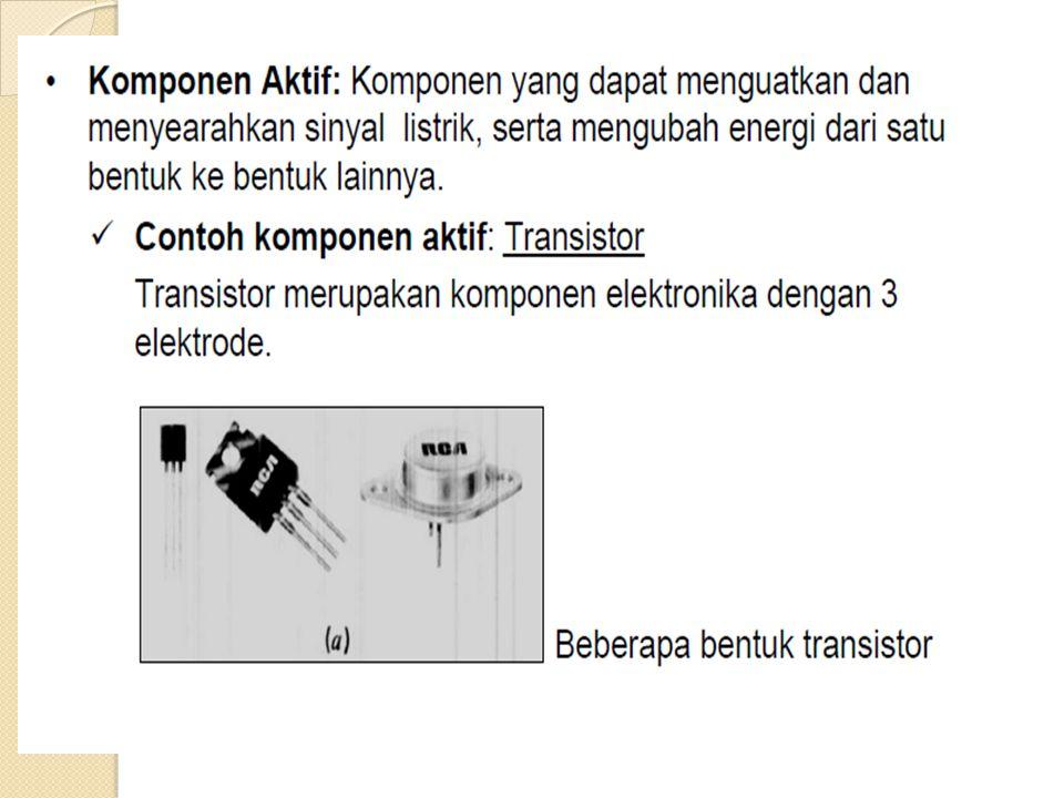 Sifat-sifat Penguat Common Base:  Isolasi input dan output tinggi sehingga Feedback lebih kecil  Cocok sebagai Pre-Amp karena mempunyai impedansi input tinggi yang  dapat menguatkan sinyal kecil  Dapat dipakai sebagai penguat frekuensi tinggi  Dapat dipakai sebagai buffer