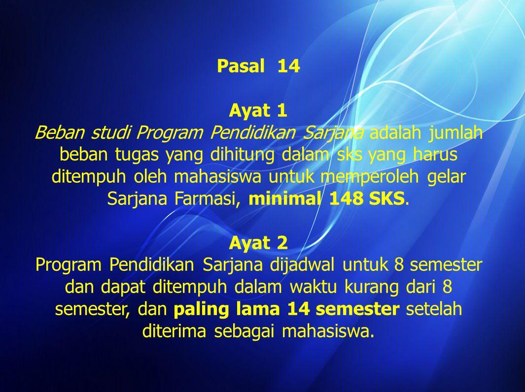 Pasal 10 Ayat 1 Mahasiswa yang tidak melakukan pendaftaran ulang selama 1 (satu) semester, tetap diperhitungkan sebagai lama-studi.