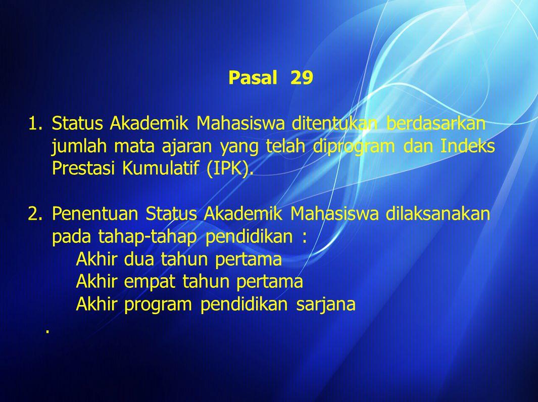 Pasal 17 6.Mahasiswa wajib menunjukkan Kartu Tanda Mahasiswa yang masih berlaku.