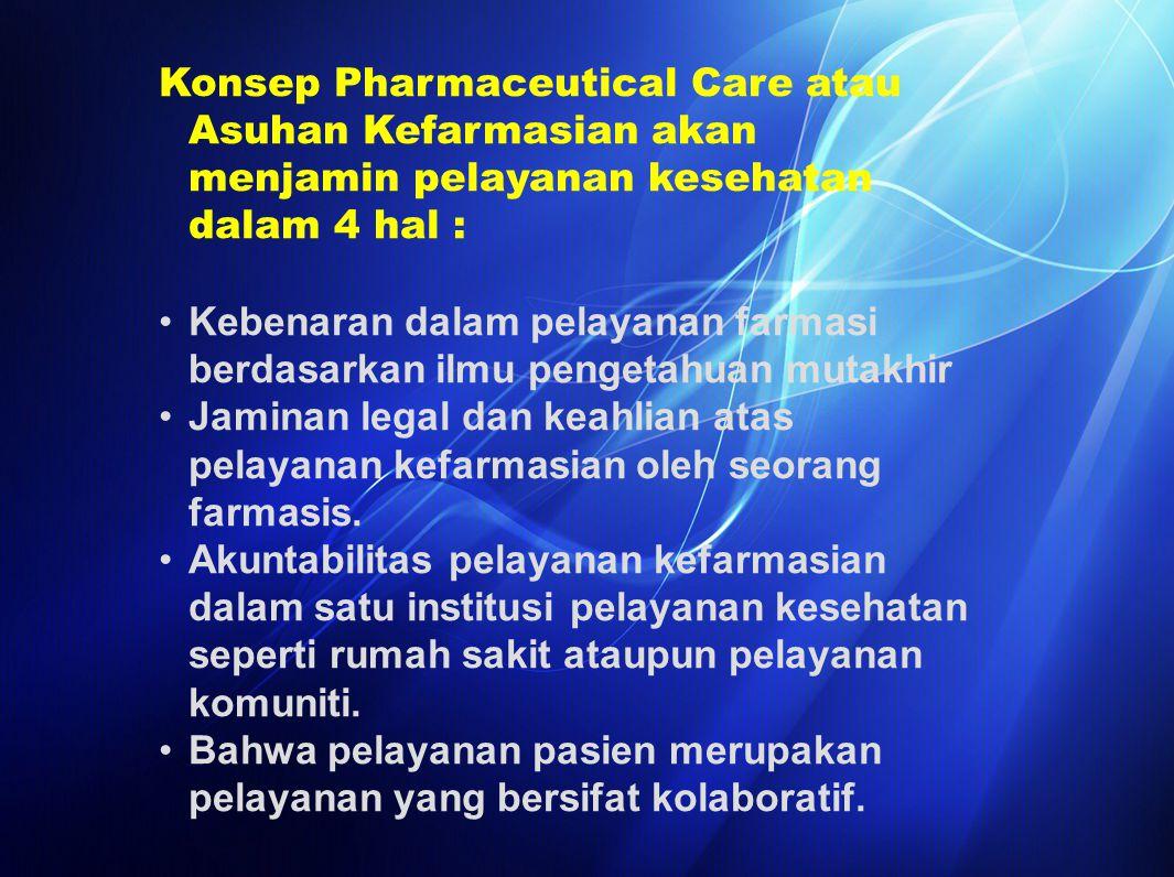 Lulusan baru farmasis/apoteker, semestinya segera mengenali obligasinya kepada masyarakat.