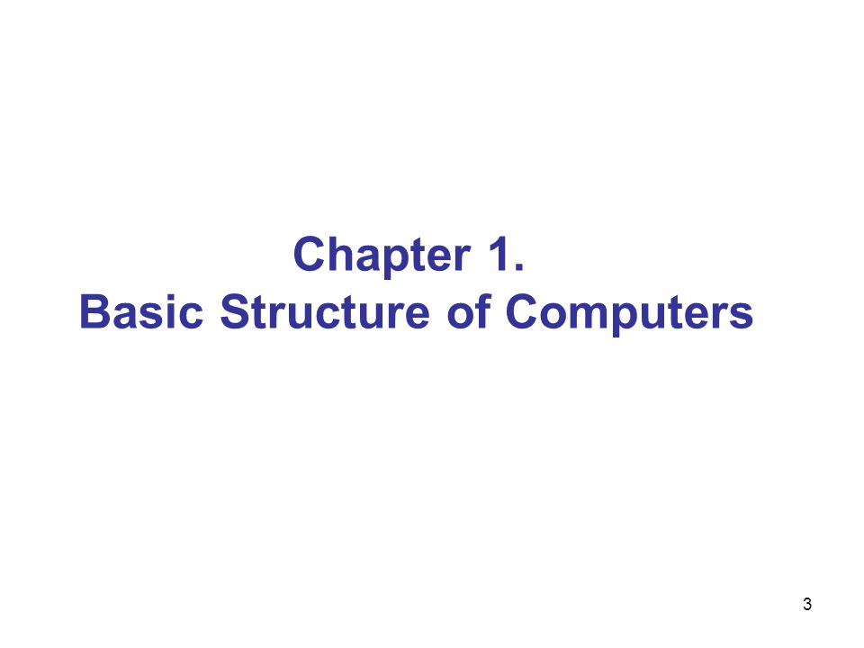 4 Figure 1.1.Basic functional units of a computer.