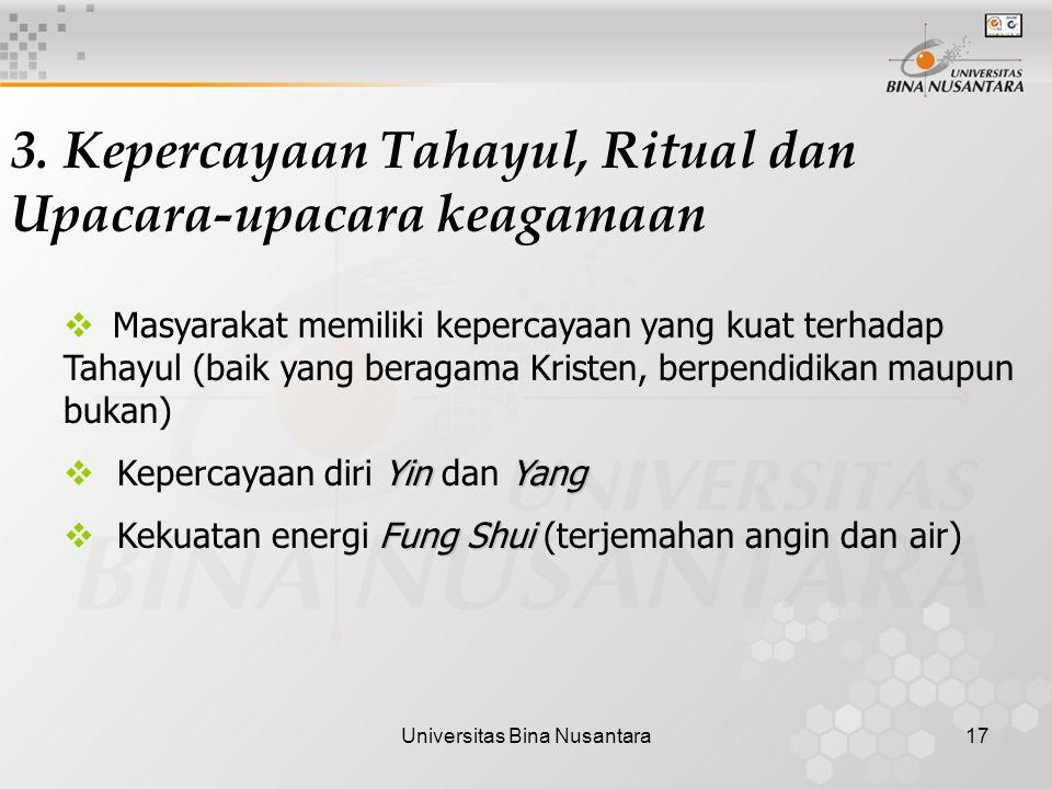Universitas Bina Nusantara17 3.