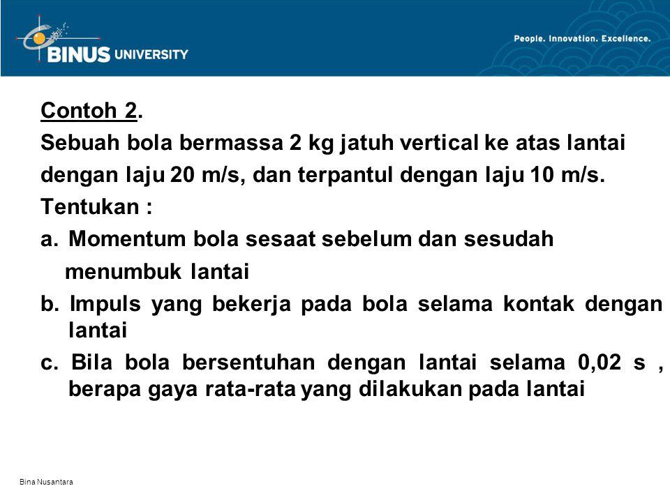 Bina Nusantara Contoh 2.