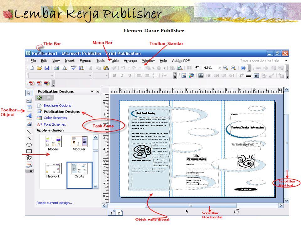 Pokok bahasan 10 - 11 4 Lembar Kerja Publisher