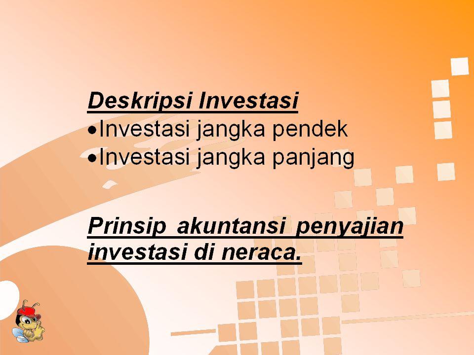Program Pengujian Substantif Investasi