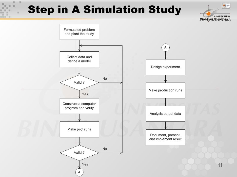 11 Step in A Simulation Study