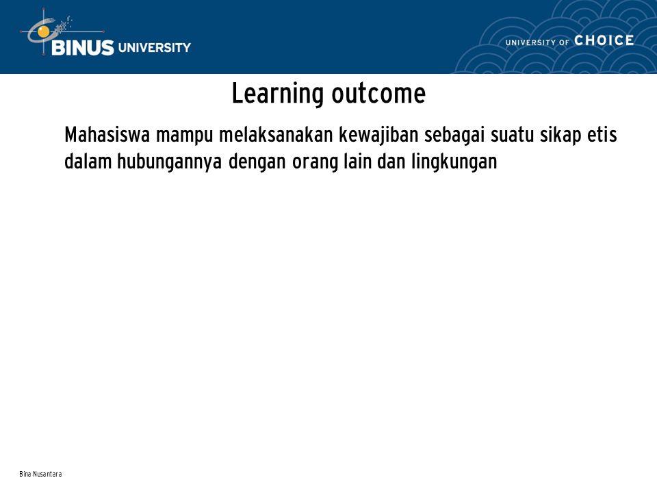 Bina Nusantara Materi: Kewajiban karyawan terhadap perusahaan Kewajiban perusahaan kepada karyawan