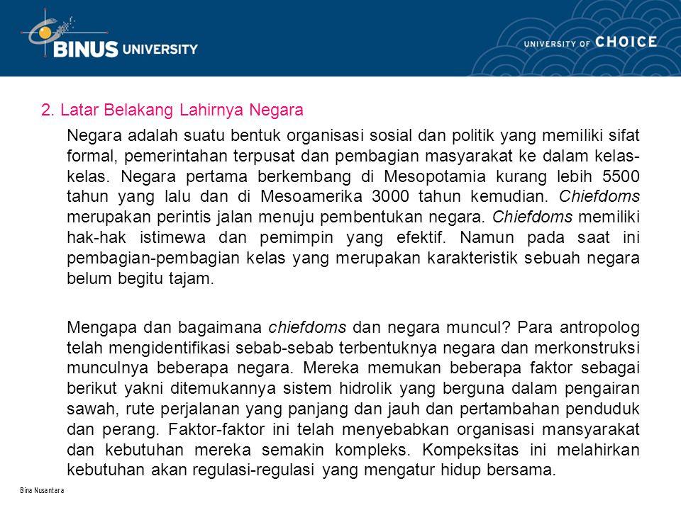 Bina Nusantara 2.1.