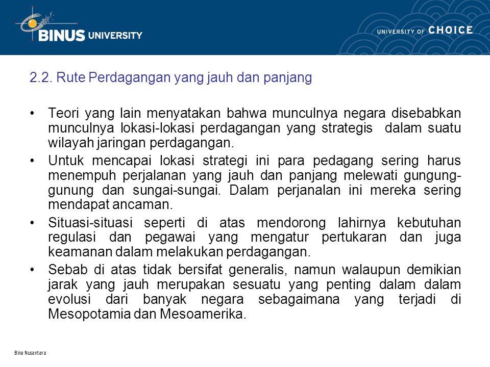 Bina Nusantara 2.3.