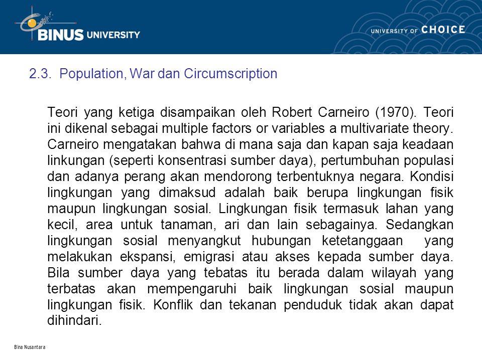 Bina Nusantara 3.Ciri-ciri Negara 3.1.