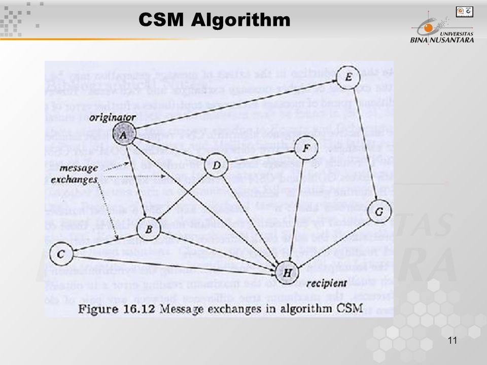 11 CSM Algorithm