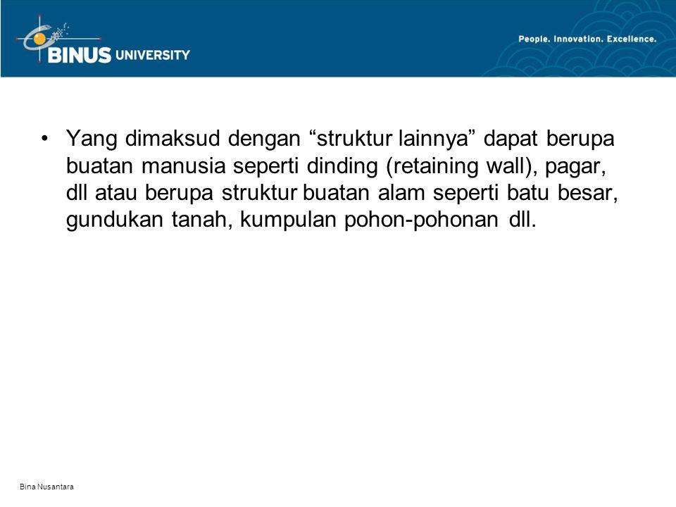 Bina Nusantara 2.Perancangan Tapak dipengaruhi oleh 4 disiplin yakni : a.