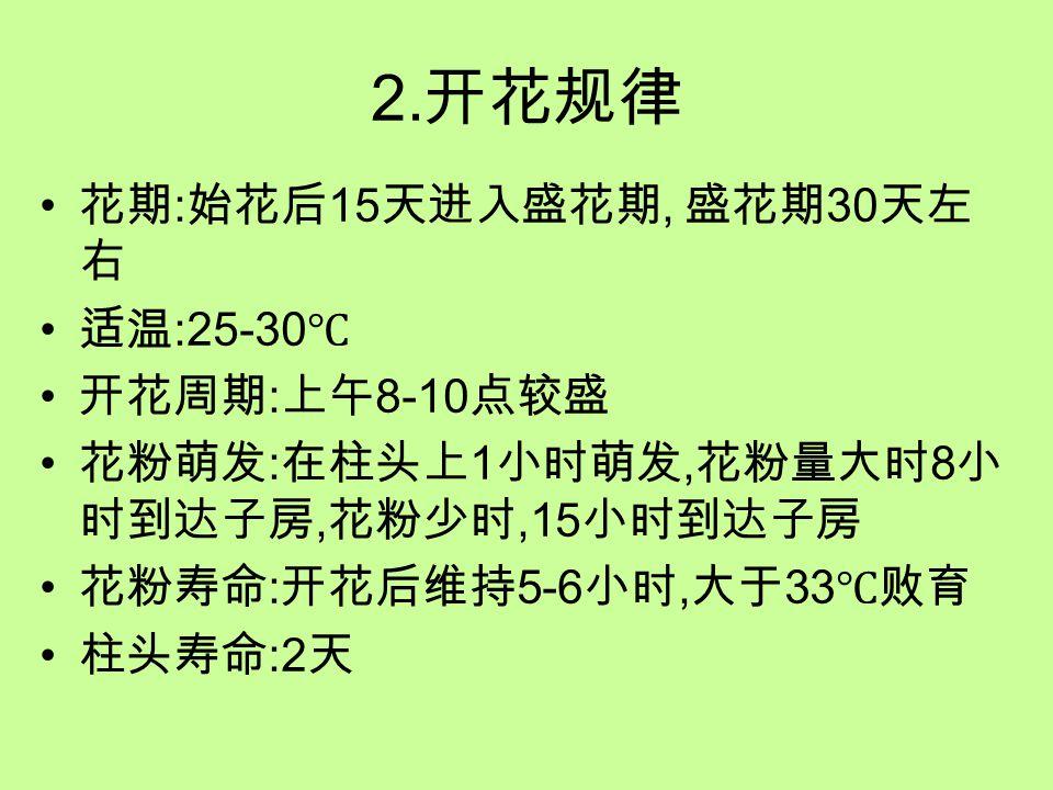 3.主要制种方法的特点 (1) 人工去雄授粉 下午去雄, 第二天上午授粉, 有多种授粉 方法, 上午 11 点前结束.7 月 1-8 月 20 日,50 天风雨无阻.