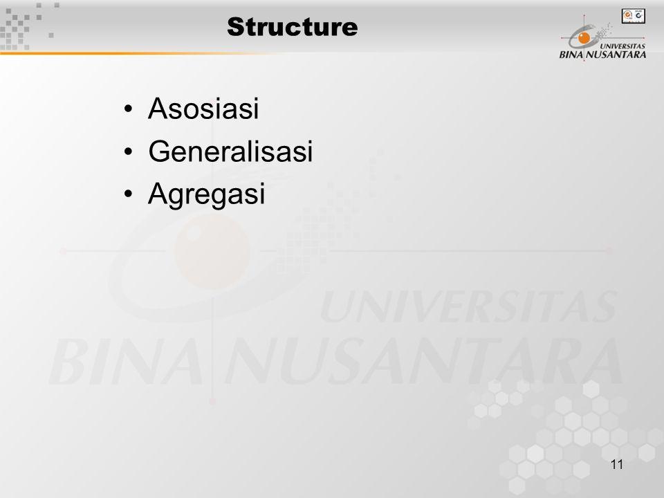 11 Structure Asosiasi Generalisasi Agregasi