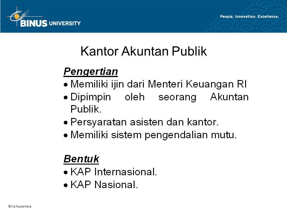 Bina Nusantara Kantor Akuntan Publik
