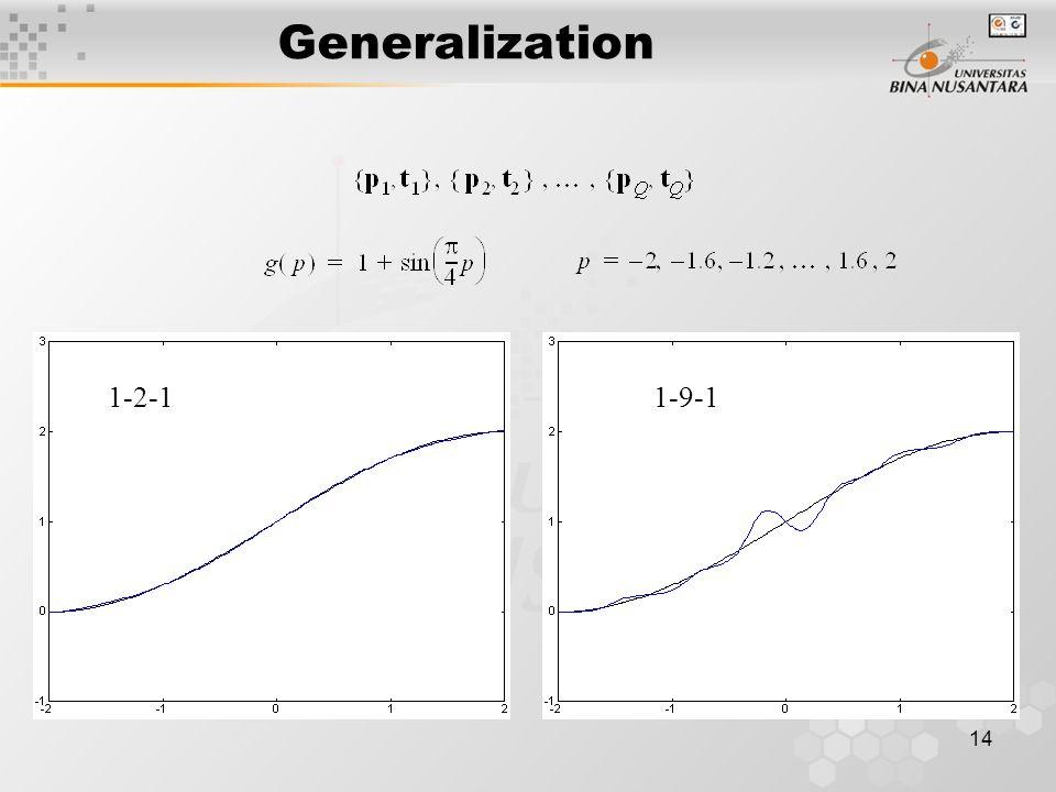14 Generalization 1-2-11-9-1