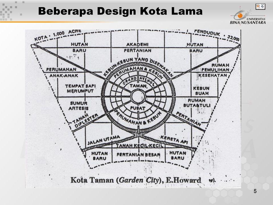 5 Beberapa Design Kota Lama