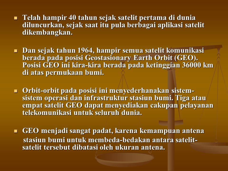 CIRI-CIRI  Geo merupakan singkatan kepada Geosynchronous / Geostationary Earth Orbital.