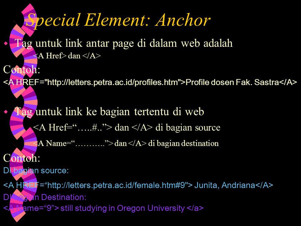 Tag untuk Mengatur FONT: bold italic underline …….