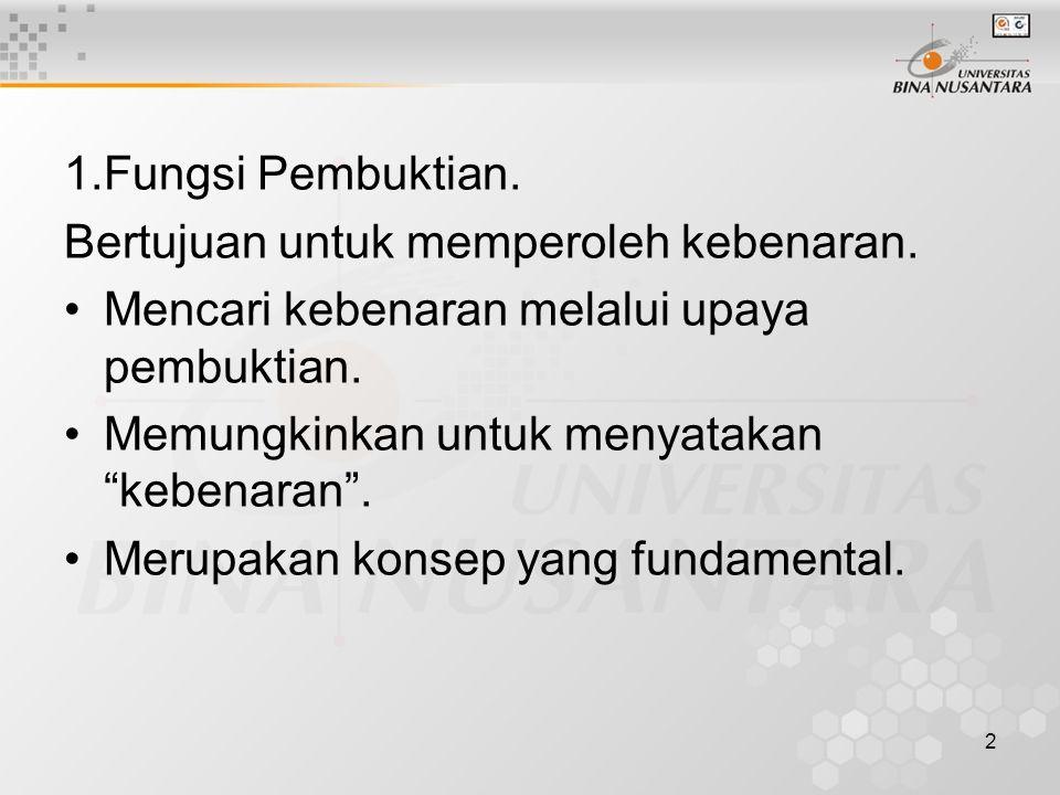 3 1.Pembuktian dalam Auditting a. Kriteria Bukti, harus memenuhi 2 syarat: Cukup (sufficient).