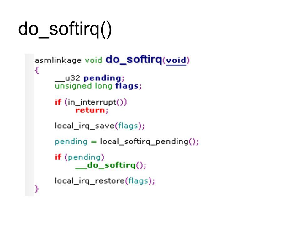 do_softirq()