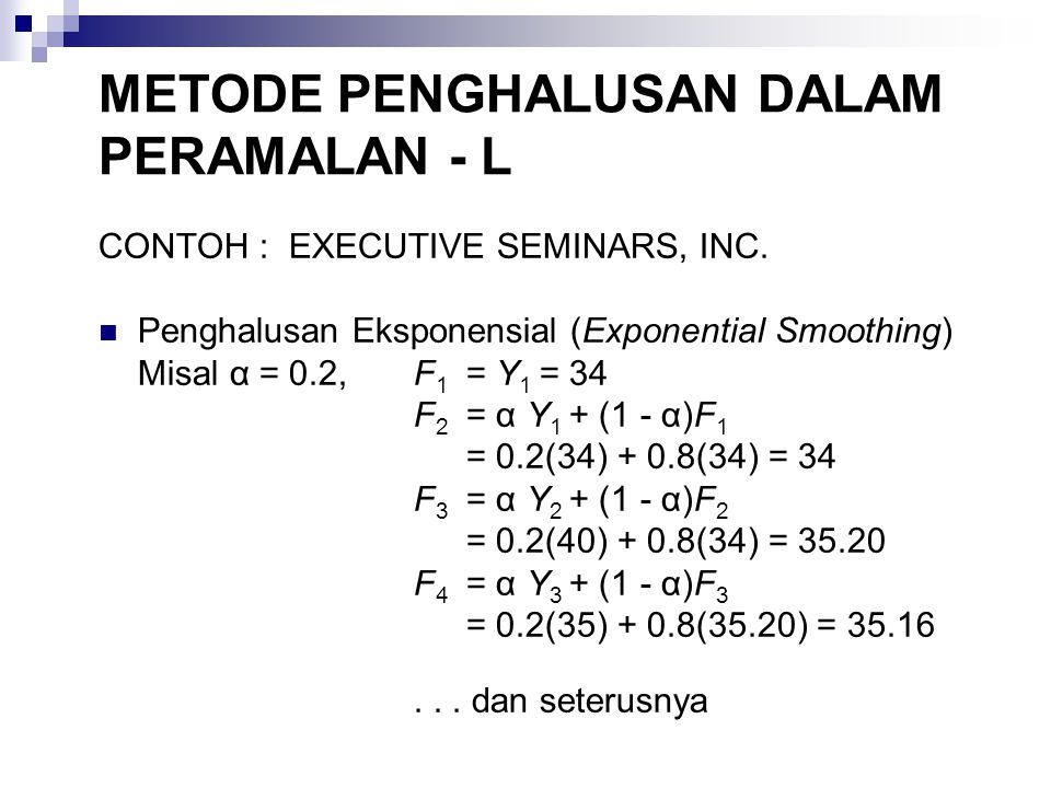 CONTOH : EXECUTIVE SEMINARS, INC.