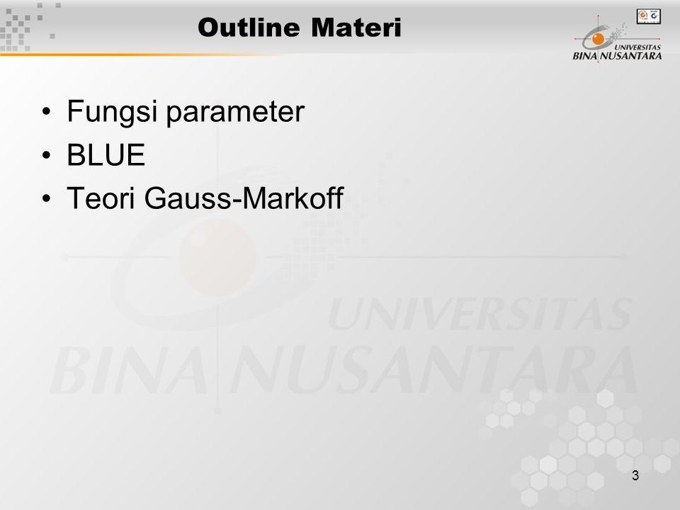 14 Teori Gauss-Markoff.