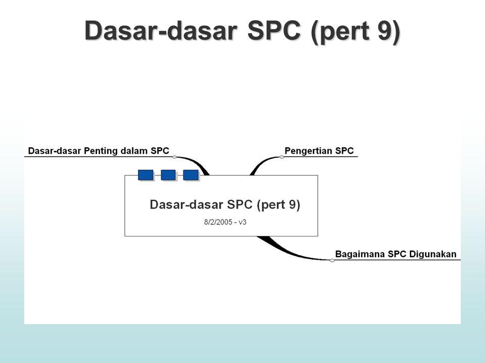 Dasar-dasar SPC (pert 9)