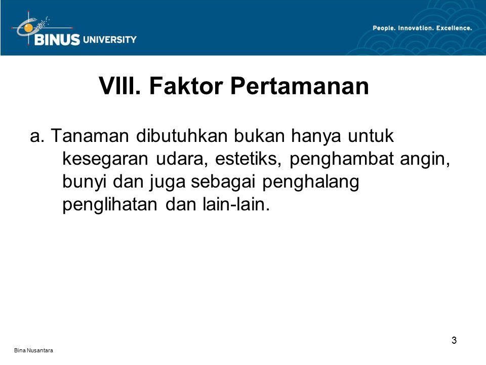 Bina Nusantara 3 a.